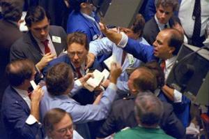 market brokers panic