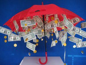 soldi pioggia